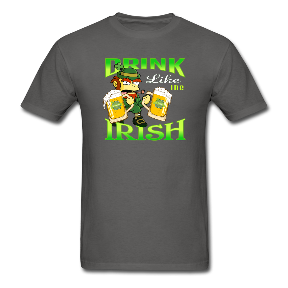 Drink Like The Irish 3 - charcoal