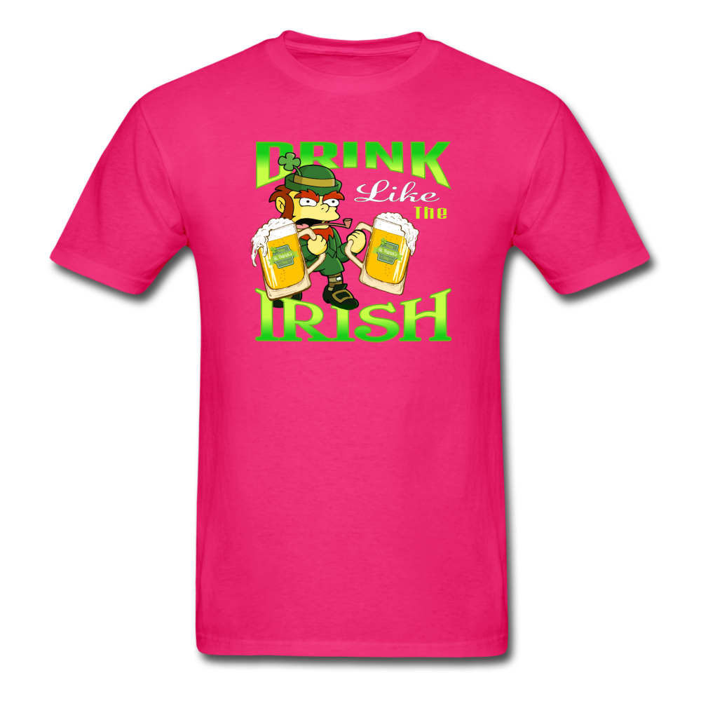 Drink Like The Irish 3 - fuchsia