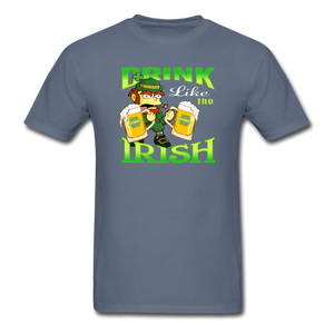 Drink Like The Irish 3 - denim