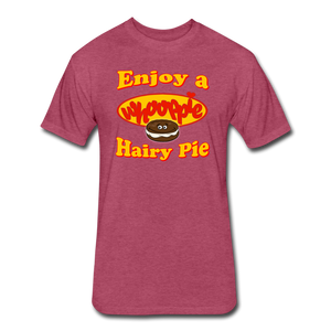 Enjoy a Whooppie Hairy Pie - heather burgundy