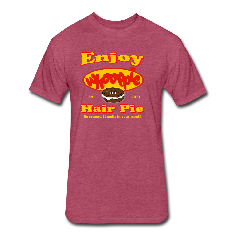 Whooppie Hair Pie - heather burgundy