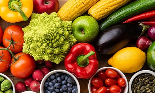 Fruits and Vegitable diet