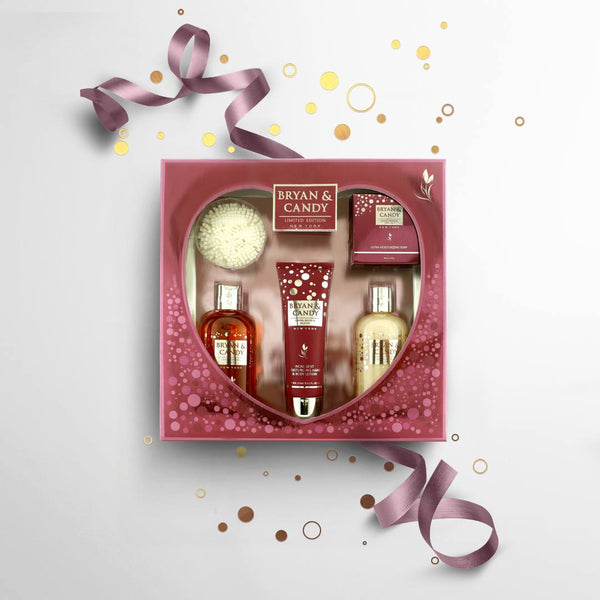 Gift Box For Her - Bath and Body Essentials - Sandalwood and Wild Fig
