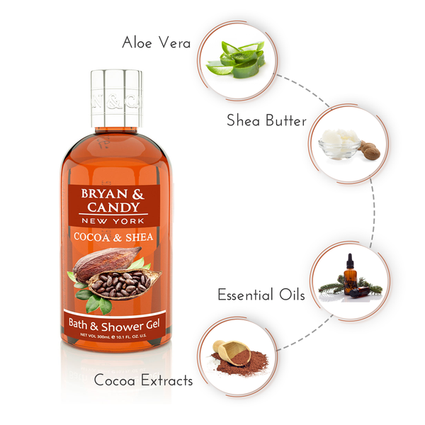 Cocoa & Shea - Bath and Shower Gel 300ml