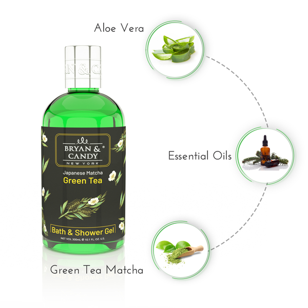 Green Tea - Bath & Shower Gel 300ml