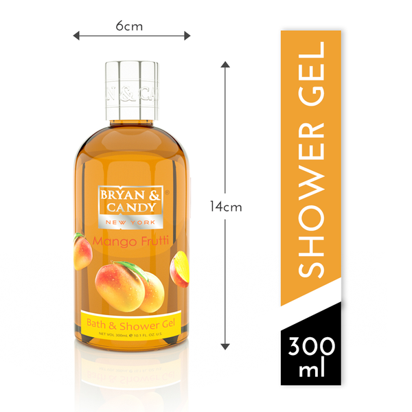Mango Frutti - Bath & Shower Gel 300ml