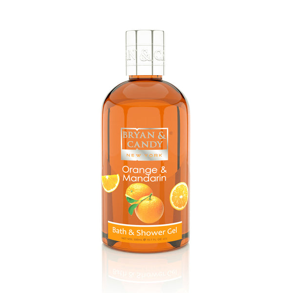 ORANGE & MANDARIN for BATH & SHOWER GEL