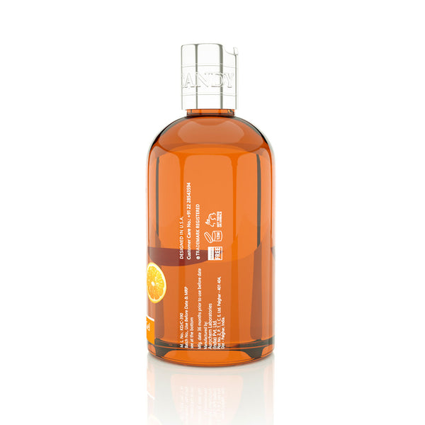 ORANGE & MANDARIN for BATH & SHOWER GEL- Left