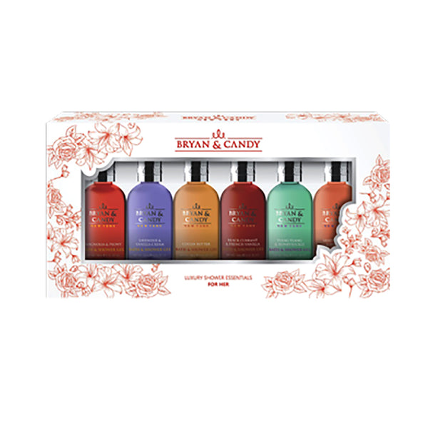 PICK-O-SIX KIT – 6 HEAVENLY FRAGRANCES OF SHOWER GEL COLLECTION FOR HER
