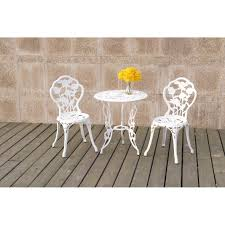 White Rose Outdoor Collection 3Pc