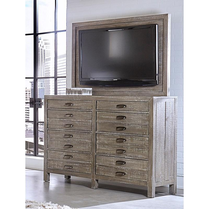 Radiata 8 Drawer Chesser with TV Mount