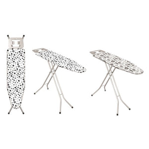 Metal Top Ironing Board with Metal Plate Iron Rest