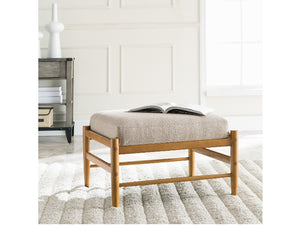 Carolyn Square Upholstered Ottoman
