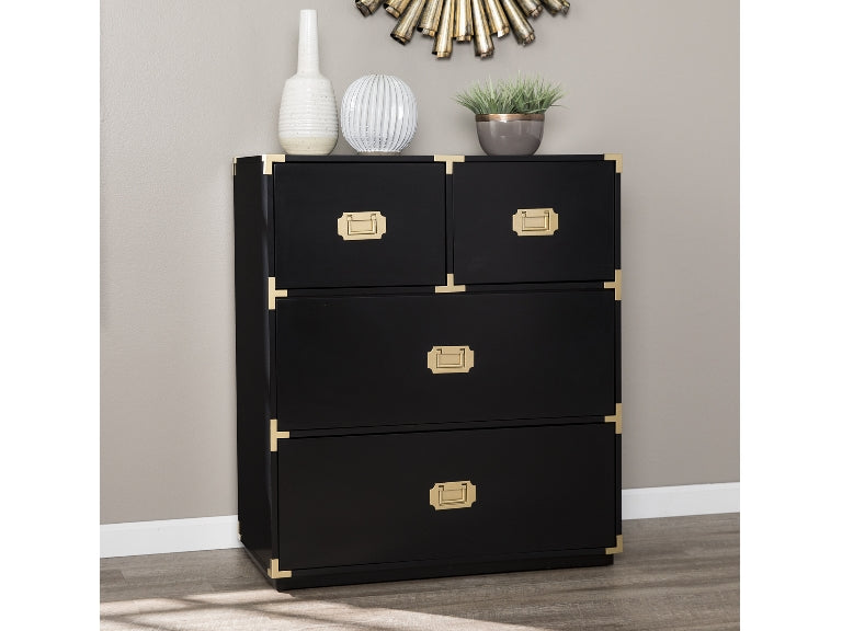 Campaign 4 Drawer Accent Chest