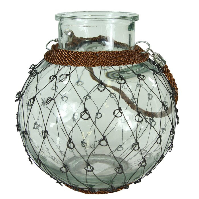 Breakwater Bay Glass Lantern