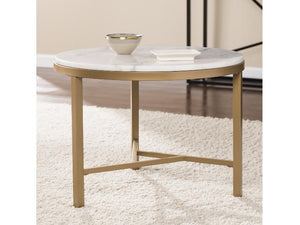Garza Marble Accent Table