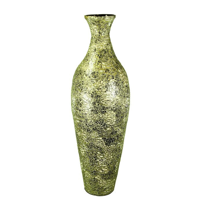 Shondra Egg Crack Floor Vase