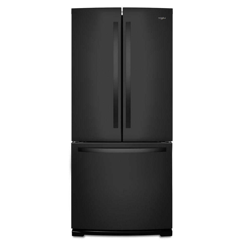 Whirlpool 30-inch Wide French Door Refrigerator - 20 cu. ft.