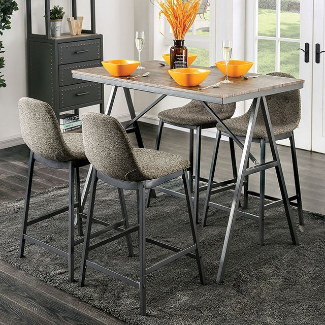 Brant Counter Height Table 5Pc Set