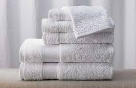 Solid or Ribbed Bath Towel
