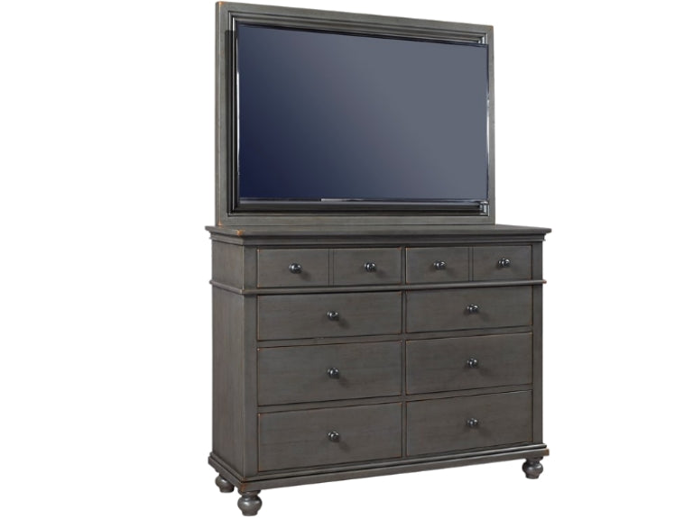 Oxford 8 Drawer Dresser with TV Frame Mount