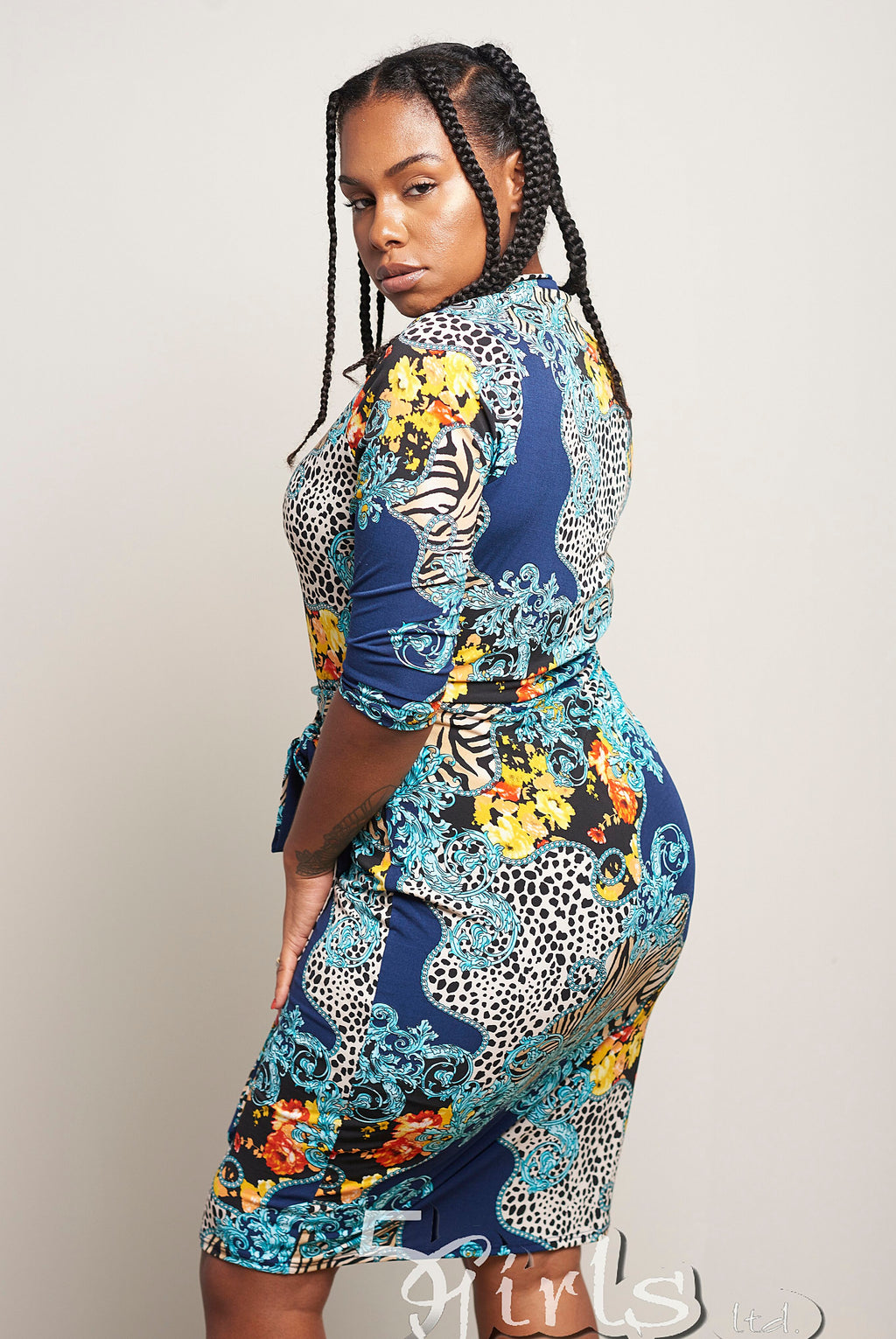 Jungle Fever Printed Dress