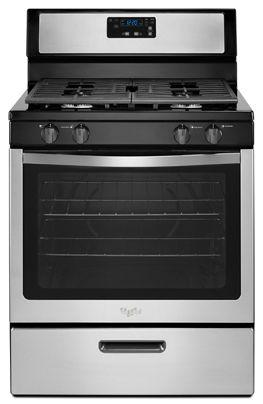 Whirlpool 5.1 cu. ft. Freestanding Gas Range with Under-Oven Broiler