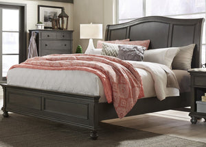 Oxford King Sleigh Bed