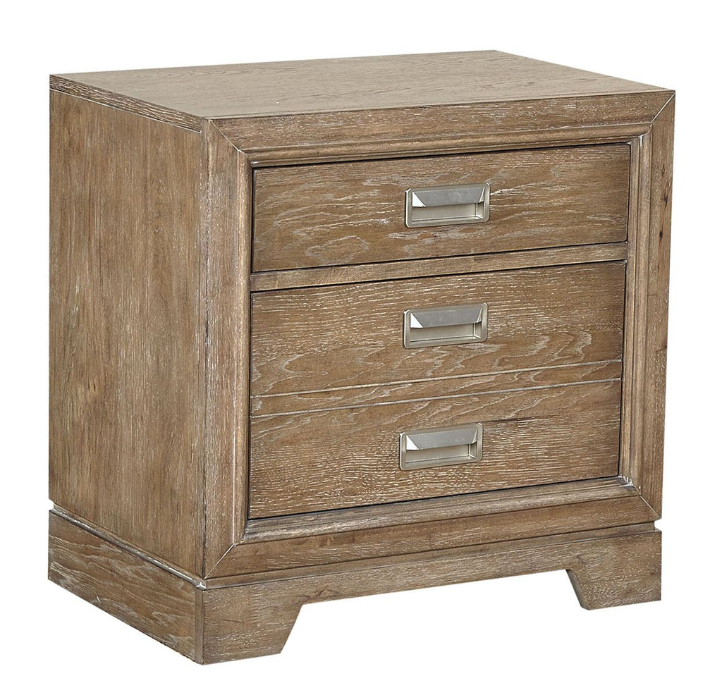 Front Street 2 Drawer Night Stand w/Power