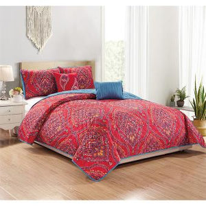 Jayna 5Pc Quilt Set