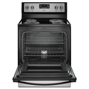 Whirlpool 4.8 cu. ft. Freestanding Electric Range Oven , Counter Depth
