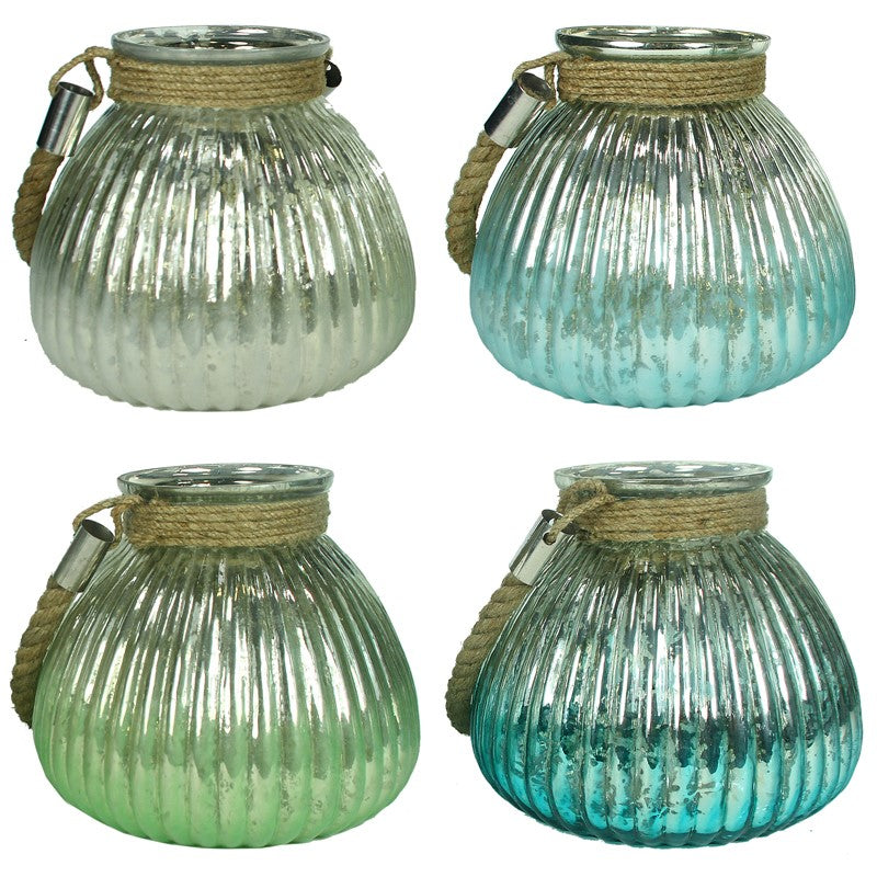 Rosecliff Heights Lanterns With Rope