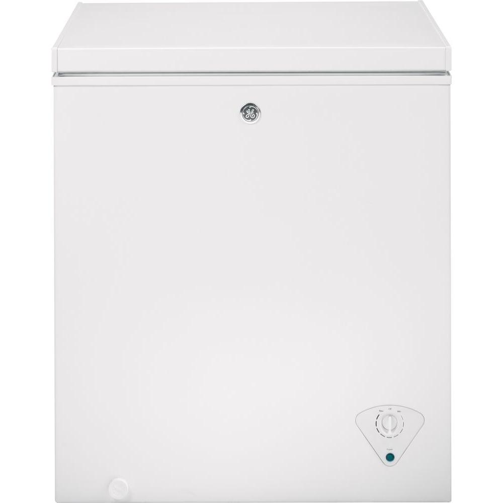 GE Manual Defrost Chest Freezer 5.0 Cu.Ft