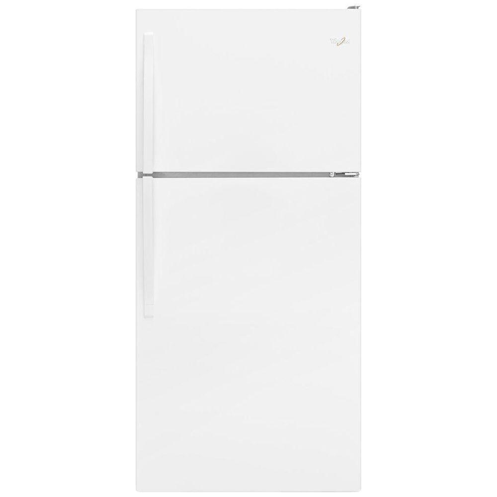 Whirlpool 18.2 cu. ft. Top Freezer Refrigerator in White