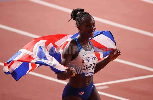 Dina Asher Smith & Katarina Johnson Thompson win Gold Medals
