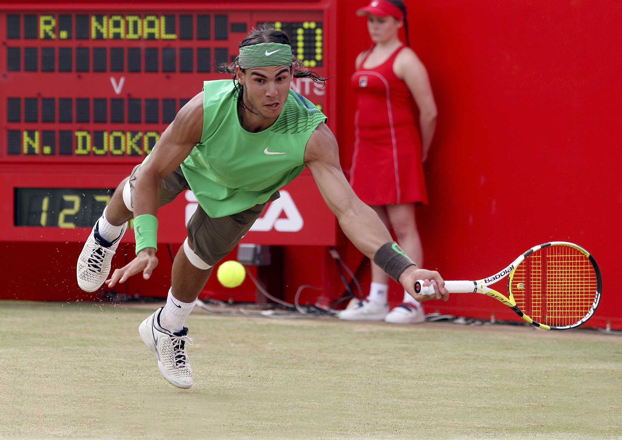 Rafael Nadal Saves Match Point Against Medvedev
