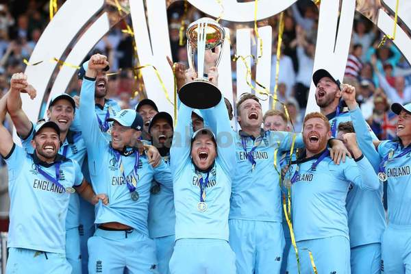 England Celebrate World Cup Victory
