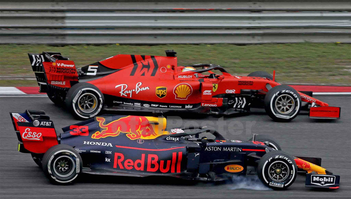 Max Verstappen and Sebastian Vettel Shine in German F1 at Hockenheim