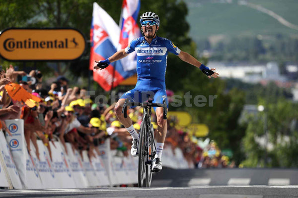 Julian Alaphilippe Wins| Tour de France Poster | TotalPoster