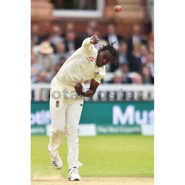 Jofra Archer | Ashes Cricket Poster | TotalPoster