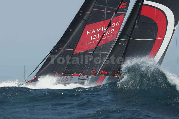 Wild Oats XI Racing Yacht | Sydney to Hobart Race | TotalPOster