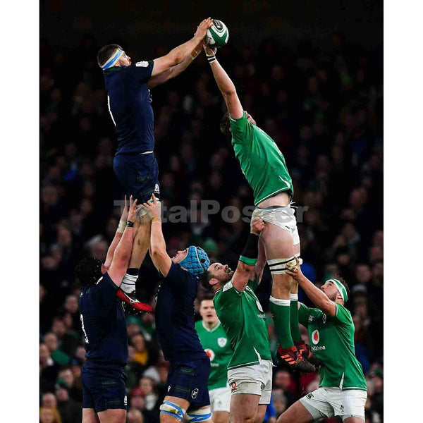 Iain Henderson | Ireland Six Nations Rugby Poster | TotalPoster