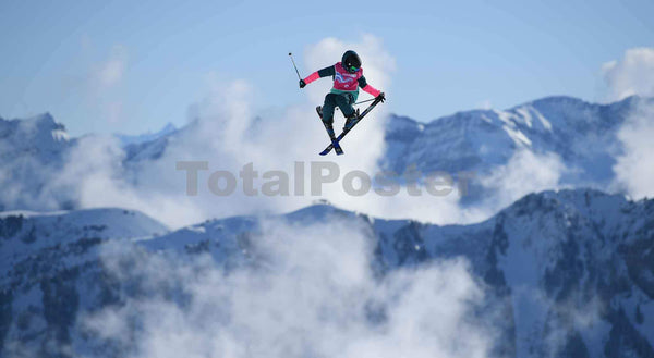 Kirsty Muir | Slopestyle Ski Posters | TotalPoster