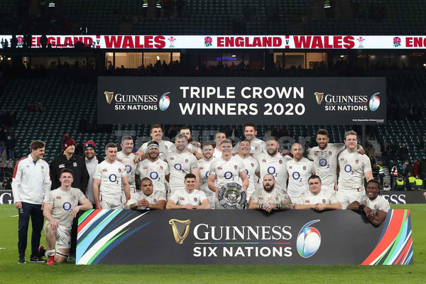 England Celebrate Triple Crown | Six Nations Rugby Poster