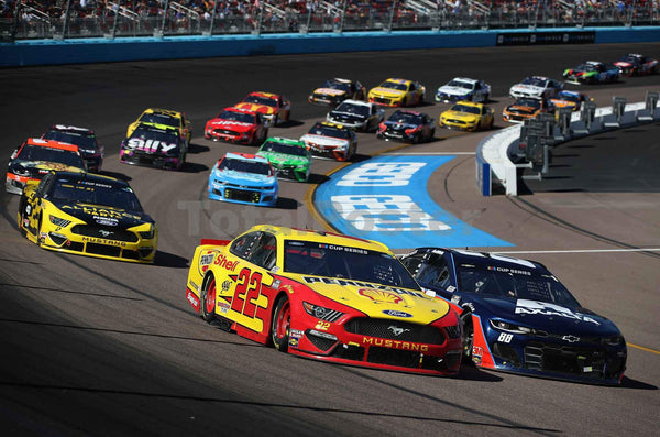 Joey Logano leads at Pheonix | NASCAR Poster TotalPoster