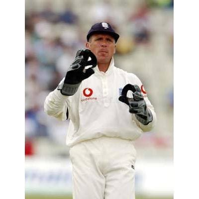 Alec Stewart during the England v South Africa Npower First Test Match at Edgbaston | TotalPoster
