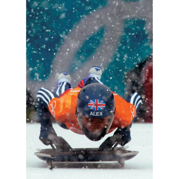 Alex Coomber poster | Olympic Skeleton | TotalPoster