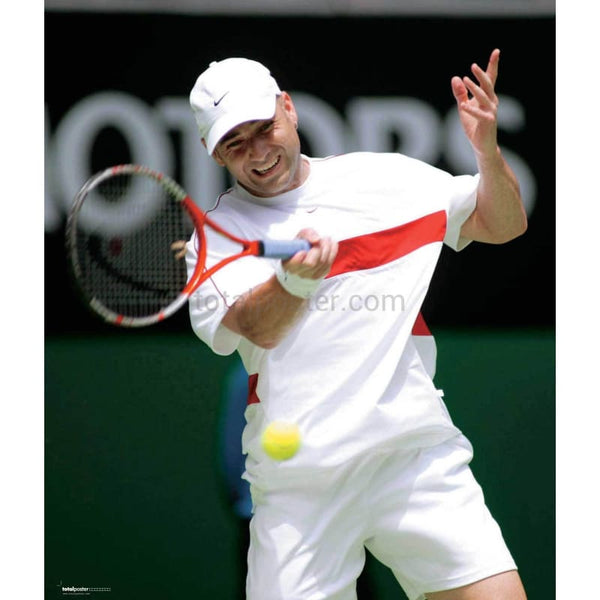 Andre Agassi TotalPoster