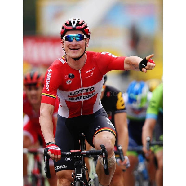 Andre Greipel celebrates stage 15 win| Tour de France Posters TotalPoster