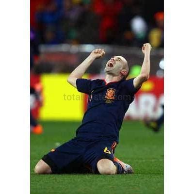 Andres Iniesta | Football World Cup Posters | Totalposter